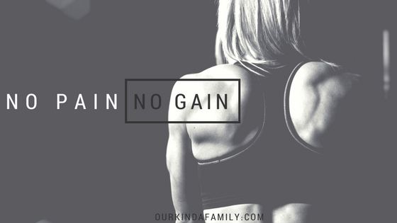 no pain no gain challenges growth james 1